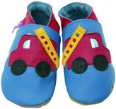 Starchild shoes Boys Soft Leather Baby Shoes Fire Engine Blue