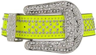 Philipp Plein Oversized Buckle Belt