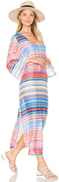 Seafolly Kashmir Stripe Maxi Kaftan in Pink. - size XS (also in )