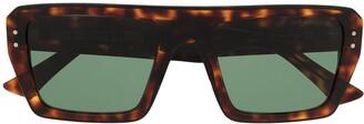 Cutler & Gross Tortoiseshell Square-Frame Sunglasses
