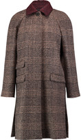 Sonia Rykiel Houndstooth alpaca and wool-blend coat