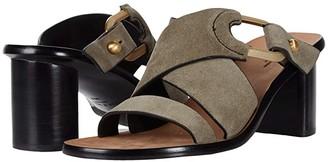 Rag & Bone August Mule (Safari Khaki Suede) Women's Shoes