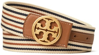 Tory Burch Webbing Logo Belt