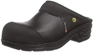 Sanita San Pro Light SB Certified ESD Safety Work Clog   Original Handmade   Comfortable Leather Mule Clog, Size: