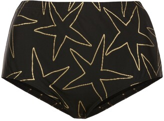Cynthia Rowley Aster high waisted bottoms