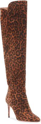 Aquazzura Gainsbourg Jaguar Knee Boots