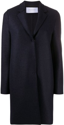 Harris Wharf London Single-Breasted Tailored Coat