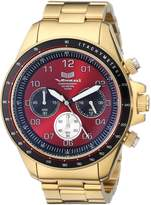 Vestal Men's ZR2021 ZR-2 Analog Display Japanese Quartz Gold Watch