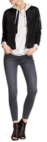 Black Orchid Noah Ankle Fray Jean
