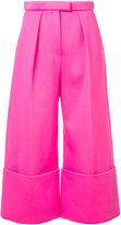 DELPOZO structured culotte trousers