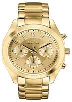 Caravelle New York by Bulova Women's Chronograph Gold-Tone Stainless Steel Bracelet Watch - 44L118