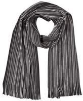 Burton Burton Black Knitted Stripe Scarf