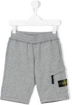 Stone Island Junior - jogging shorts - kids - Cotton - 2 yrs