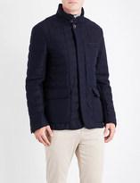 Canali Pocket-detailed wool jacket