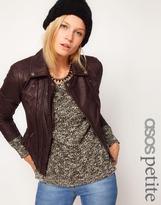 Asos Exclusive Premium Leather Biker Jacket