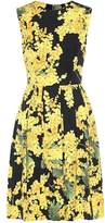 Carolina Herrera Sleeveless cotton-blend dress
