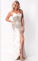 Nina Canacci - I39898 Dress in Ivory/Multi