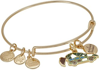 Alex and Ani Christmas Vacation A Griswold Christmas Bangle Bracelet (Green) Bracelet