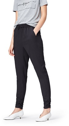 Find. Amazon Brand Women's Joggers in Tapered Cut with Regular Waist