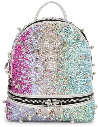 Philipp Plein Iridescent Stud-Embellished Backpack