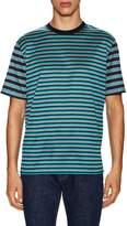 Lanvin Men's Cotton Striped Crewneck T-Shirt
