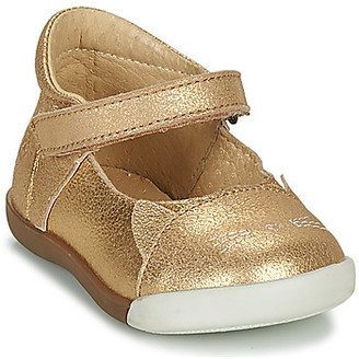 Citrouille et Compagnie LAKALA girls's Shoes (Pumps / Ballerinas) in Gold