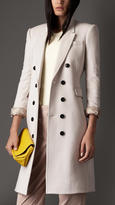 Burberry Satin Detail Cashmere Chesterfield