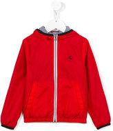 Fay Kids - zipped jacket - kids - Cotton/Polyamide - 4 yrs