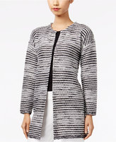 Cable & Gauge Metallic Sweater Coat