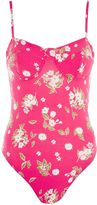 Topshop PETITE Floral Cupped Body