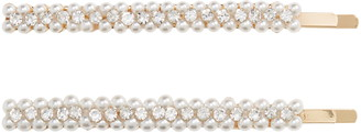 Tasha 2-Pack Imitation Pearl & Crystal Bobby Pins