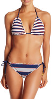 Sperry Sailing Stripe Triangle Bikini Top