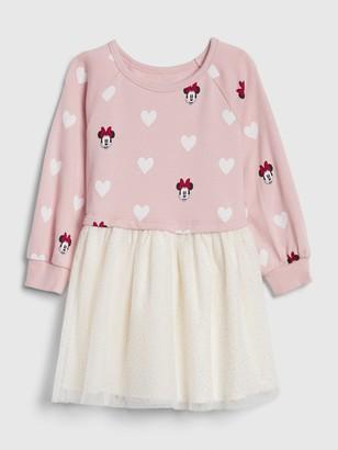 Disney babyGap | Minnie Mouse Mix-Media Dress