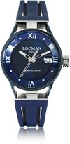 Locman Montecristo Stainless Steel and Titanium Women's Watch w/Silicone Strap