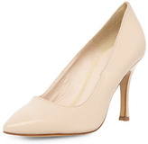 Dorothy Perkins Nude suede pointed courts