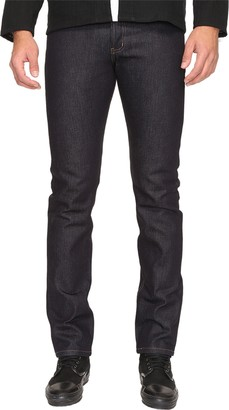 Naked & Famous Denim Men's Monster Selvedtge Heavyweight Weird Guy Jean with Cordovan Leather Patch