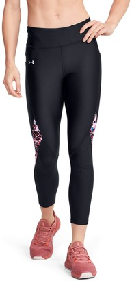 Under Armour Women's HeatGear Armour Printed Ankle Crop