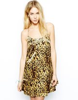 Glamorous Leopard Print Cami Dress