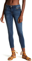 KUT from the Kloth Emma Zipper Pockets Ankle Skinny Jeans
