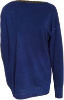 Tomas Maier Asymetrical Long Sleeve Pullover