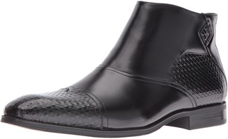 Stacy Adams Men's Faramond Modified Cap Toe Chelsea Boot
