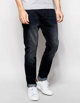 Esprit Tapered Fit Jeans in Dark Wash