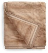 Yves Salomon Mink Fur Blanket/Honey