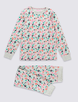Cotton Long Sleeve Pajamas Shopstyle Uk