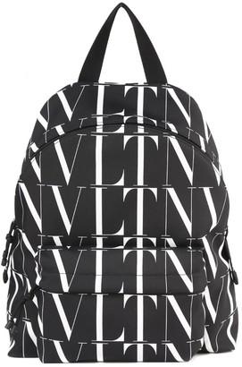 Valentino Vltn Times Nylon Backpack