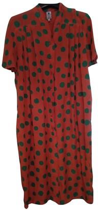 Ungaro Red Silk Dresses