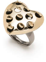 Alexis Bittar Grater Heart Cocktail Ring