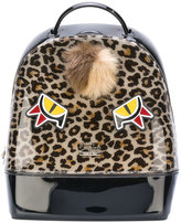 Furla Candy backpack - women - Artificial Fur/Calf Leather/PVC - One Size