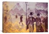 iCanvas 'Paris Street Iv' Giclee Print Canvas Art