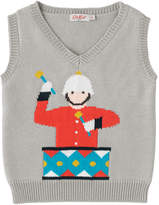 Cath Kidston Boys Knitted Marching Band Tank